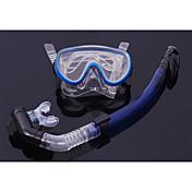 Gafas de buceo Set de esnórquel Paquetes de Buceo Punta seca Buceo y Submarinismo Silicona