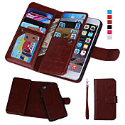 Magnetic 2 in 1 Wallet Leather+9 Card Holder+Photo Frame Case for iPhone 7 7 Plus 6s 6 Plus SE 5s 5