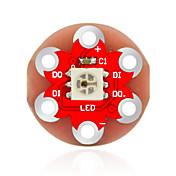 키이스 릴리 패드 아두 착용 ws2812의 RGB 모듈 (적색)