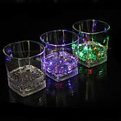 주도 발광 유리 물 유도 다채로운 중주 컵 색상 컵