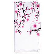 용 아이폰6케이스 / 아이폰6플러스 케이스 지갑 / 카드 홀더 / 스탠드 / 플립 / 패턴 케이스 풀 바디 케이스 꽃장식 하드 인조 가죽 iPhone 6s Plus/6 Plus / iPhone 6s/6