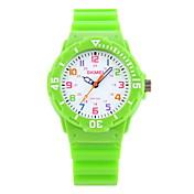 SKMEI® Kids' Casual Wristwatch Japanese Quartz Candy Color Strap Watch Cool Watches Unique Watches