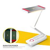 2 w ahorro fresco ac impermeable blanco / regulable / recargable de energía LED de lectura de la luz (color clasificado)