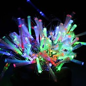 10m 100-luz LED de colores 8-LED de modo de cadena de la lámpara (220v)