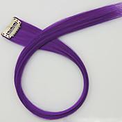 보라색 길이 60cm 합성 가발 긴 직선 머리 색깔 (컬러 2411)