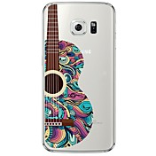 Guitar Pattern Soft Ultra-thin TPU Back Cover For Samsung GalaxyS7 edge/S7/S6 edge/S6 edge plus/S6/S5/S4