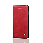 luxury Ultra Slim Genuine Leather Flip Case for iPhone 6s Plus/6 Plus iPhone 6s/6 iPhone SE/5s/5