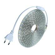 20m / 1pcs 220v 5050 llevó la cinta flexible de la tira de la cuerda de luz de Navidad al aire libre enchufe a prueba de agua al aire