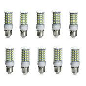10W E14 / G9 / GU10 / E26/E27 / B22 Bombillas LED de Mazorca Tubo 69 SMD 5730 850-950 lm Blanco Cálido / Blanco FrescoDecorativa /