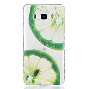Lemon Pattern Tpu Material Highly Transparent Phone Case For Samsung Galaxy G530 J3 PRO j1 J3 J5 J7 (2016)
