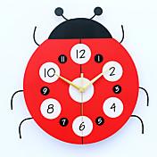 현대/현대 주택 벽 시계,기타 메탈 / 우드 33*32cm 실내 시계