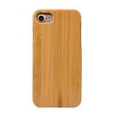용 방진 케이스 뒷면 커버 케이스 단색 하드 대나무 용 Apple 아이폰 7 플러스 / 아이폰 (7) / iPhone 6s Plus/6 Plus / iPhone 6s/6 / iPhone SE/5s/5