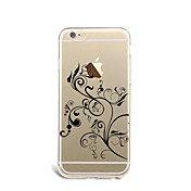 제품 케이스 커버 패턴 뒷면 커버 케이스 꽃장식 소프트 TPU 용 Apple 아이폰 7 플러스 아이폰 (7) iPhone 6s Plus iPhone 6 Plus iPhone 6s 아이폰 6 iPhone SE/5s iPhone 5