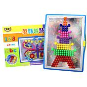 DIY 키트 조립식 블럭 3D퍼즐 홀리데이 소도구 홀리데이 용품 교육용 장난감 크리스마스 장난감 어른용 장난감 로직&퍼즐 장난감 장난감 선물 조립식 블럭 모델 & 조립 장난감 플라스틱 2 - 4 세 5 - 7 세 8 - 13 세 14세이상 무지개