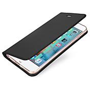 용 카드 홀더 플립 마그네틱 케이스 풀 바디 케이스 단색 하드 인조 가죽 용 Apple 아이폰 7 플러스 아이폰 (7) iPhone 6s Plus/6 Plus iPhone 6s/6 iPhone SE/5s/5
