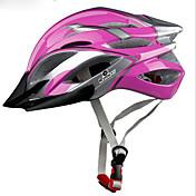스포츠 남여 공용 자전거 헬멧 21 통풍구 싸이클링 사이클링 산악 사이클링 도로 사이클링 레크리에이션 사이클링 PC EPS 옐로우 레드 블루 퍼플