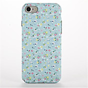 Para Diseños Funda Cubierta Trasera Funda Flor Dura Policarbonato para AppleiPhone 7 Plus iPhone 7 iPhone 6s Plus iPhone 6 Plus iPhone 6s