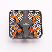 드론 RC 4CH 6 축 2.5G - RC항공기 LED조명 리턴용 1 키 안전 장치 헤드레스 모드 360동 플립 비행 배터리 충전 알림 RC항공기 리모컨 USB케이블 사용자 메뉴얼