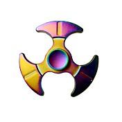 Fidget spinners Hilandero de mano Juguetes Triángulo Metal EDCAlivia ADD, ADHD, Ansiedad, Autismo Alivio del estrés y la ansiedad