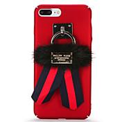 용 DIY 케이스 뒷면 커버 케이스 단색 하드 PC 용 Apple 아이폰 7 플러스 아이폰 (7) iPhone 6s Plus iPhone 6 Plus iPhone 6s 아이폰 6