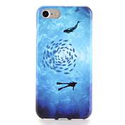용 케이스 커버 패턴 뒷면 커버 케이스 카툰 소프트 TPU 용 Apple 아이폰 7 플러스 아이폰 (7) iPhone 6s Plus iPhone 6 Plus iPhone 6s 아이폰 6
