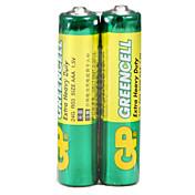 gp 녹색 셀 슈퍼 탄소 배터리 충전식 배터리 24g r03 aa 1.5v 수은 무료