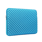 For MacBook Pro Air 11 13 15 Inch Sleeves Polyester  Simple Portable Notebook Bag Grid Pattern Laptop Sleeves 15