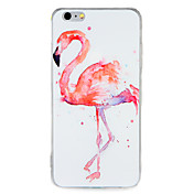 Para el caso de la contraportada del patrón de la cubierta del caso del iphone 7 7plus de la manzana PC dura 6s del flamenco más 6 más 6s