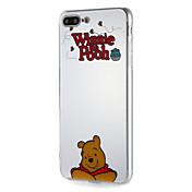 애플 iphone7 용 케이스 7plus soft tpu word / phrase 만화 6s plus 6 plus 6s 용 곰 패턴 6