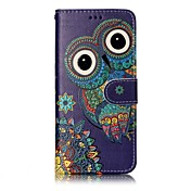 samsung galaxy s8 plus s8 phone case 올빼미 패턴 varnishing 프로세스 pu 가죽 소재 phone case s7 edge s7 s6 edge s6