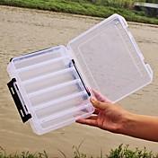 Cajas de regalos Caja de equipamiento Caja de cebos 2 Bandejas*17 cm*4.5 Plásticos