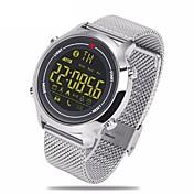 hhy la nueva correa de acero del vibe del zeblaze se divierte los relojes elegantes 365 días que el recurso seguro estupendo 5atm