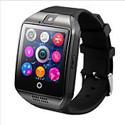 q18 smartwatch teléfono mtk6261 2.5d pantalla bluetooth 3.0 nfc cámara incorporada funciones de la salud música anti-lost
