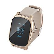 hhy t58 viejos gente gps de los niños que colocan los relojes elegantes que colocan el monitoreo alejado tiempo espera largo usted puede