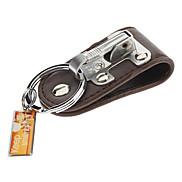 """3 """"Acierage Schlüsselanhänger mit breitem PU Lederband"""