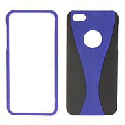Blue Goblet Pattern Detachable Hard Case for iPhone 5/5S
