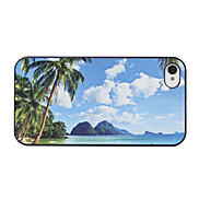 Beautiful Beach Pattern Back Case for iPhone 4/4S