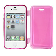 Wallet TPU Cover Case for iPhone 4/4S