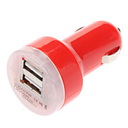 Universal Mini Red Car Charger For Samsung Mobile Phone