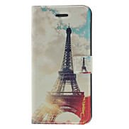 Fragrant Smell Retro Tower Pattern Full Body Case with Matte Back Cover and Stand for iPhone 5/5S