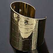 Eruner®European Style Golden Cuff Bracelet