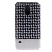Protective Fabric Case with Plastic Back Case for Samsung Galaxy i9500 S5