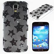 Black Star Pattern PC Hard Case for Samsung S4 I9500
