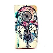 Dreamcatcher Pattern PU Leather Full Body Case with Stand for Samsung Galaxy S5 Mini G800