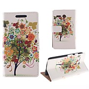 Big Beautiful Flower Pattern PU Full Body Case with Card Slot for Motorola MOTO G