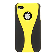 Matte Wineglass Pattern Protective Case for iPhone 4/4S (Assorted Color)