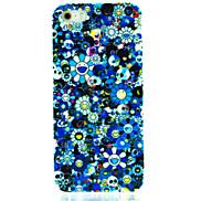 Cartoon Flower Pattern Hard Case for iPhone 4/4S