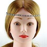 Fashion Silver Brass Rhinestone Headbands For Women (Silver,Gold)(1Pc)