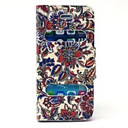 Fashion Pattern PU Leather Full Body Case with Stand for iPhone 5/5S