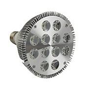 E26/E27 LED Par Lights 12 High Power LED 1200LM lm Cool White Dimmable AC 110-130 V